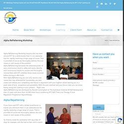EFT Training Workshops Melbourne