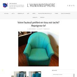 Votre fauteuil préféré en tissu est taché? Repeignez-le! – L'Humanosphère