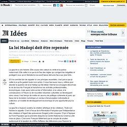La loi Hadopi doit être repensée, par François Hollande