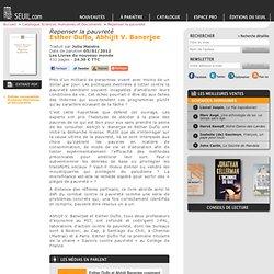 Repenser la pauvreté (2012), Abhijit V. Banerjee, Esther Duflo, Sciences humaines