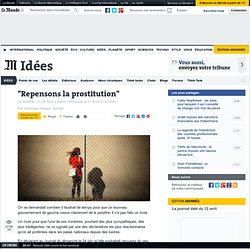 """Repensons la prostitution"""