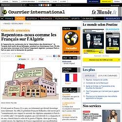 Repentons-nous comme les Français sur l'Algérie