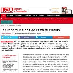 Les répercussions de l'affaire Findus - Boucherie