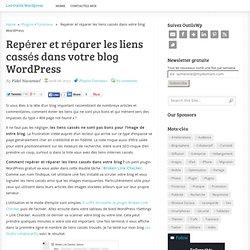 Repérer et réparer les liens cassés dans votre blog WordPress