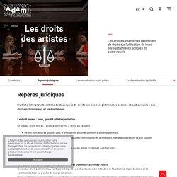 Repères juridiques - Adami