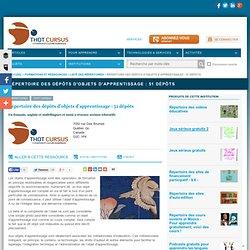 Répertoire des dépôts d'objets d'apprentissage : 51 dépôts