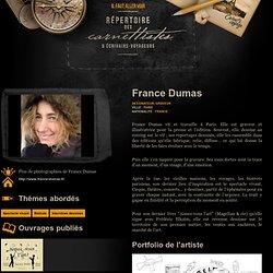 France Dumas — Répertoire des carnettistes & Écrivains-voyageurs