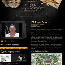Philippe Delord — Répertoire des carnettistes & Écrivains-voyageurs