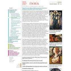 Répertoire des tableaux italiens dans les collections publiques françaises (XIIIe-XIXe siècles)