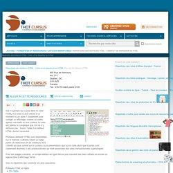 Répertoire des éditeurs HTML - Créer et se dépanner en HTML