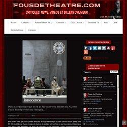 Délicate opération que celle de faire entrer le théâtre du XXIème siècle au Répertoire du Français…