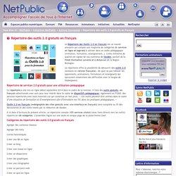 Répertoire des outils 2.0 gratuits en français