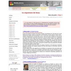 Sites de profs > Page 1