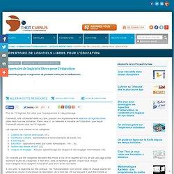 Répertoire de logiciels libres pour l'éducation