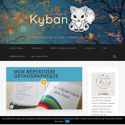 Mon répertoire orthographique - La tanière de Kyban