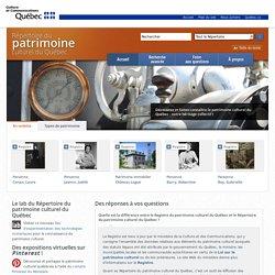 Répertoire du patrimoine culturel du Québec