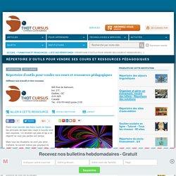 Répertoire d'outils pour vendre ses cours et ressources pédagogiques