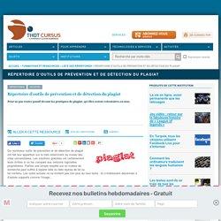 Répertoire d'outils de prévention et de détection du plagiat
