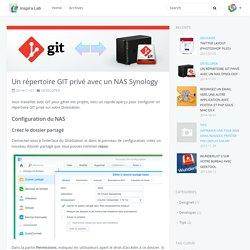 Un répertoire GIT privé avec un NAS Synology