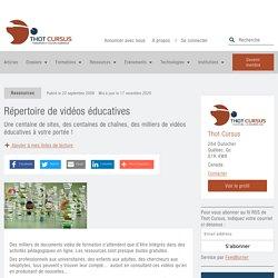 Répertoire de vidéos éducatives - Thot Cursus