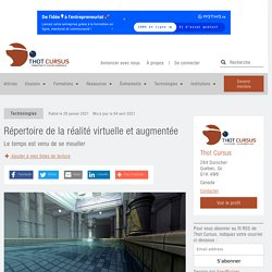 Répertoire de la réalité virtuelle et augmentée
