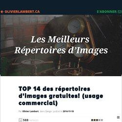 TOP 14 des répertoires d'images gratuites! (usage commercial)