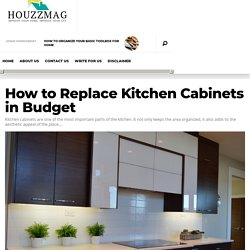 How to Replace Kitchen Cabinets in Budget