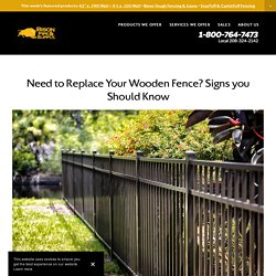 Need to Replace Your Wooden Fence? Signs you Should Know
