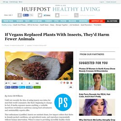 If Vegans Replaced Plants With Insects, They'd Harm Fewer Animals