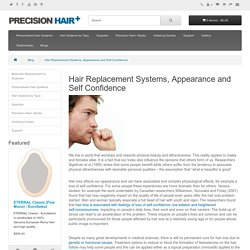 Hair Replacement Systems, Appearance and Self Confidence