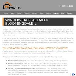 Windows Replacement Bloomingdale, IL - Windows Bloomingdale