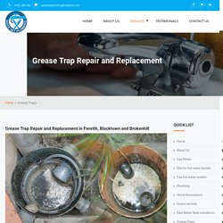 Grease trap replacement Penrith, Blacktown