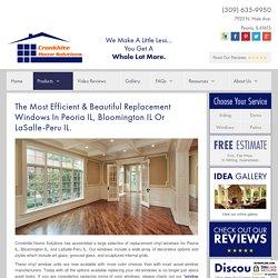 Replacement Windows Peoria IL