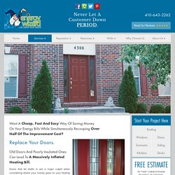 Door Replacement Services Bowie MD