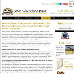 Home Window Repair in GA