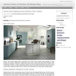 Some New Replacement Kitchen Door Ideas - Kitchen Doors & Kitchen Worktops Blog