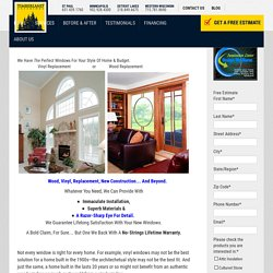 Window Replacement Twin Cities