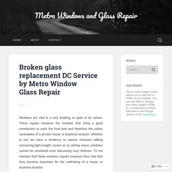DC Foggy Glass Repair