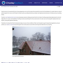 Roof replacement Services Near Me - Chorley Rooftech