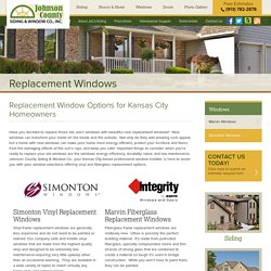 Replacement Windows In Leawood