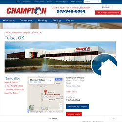 Replacement Windows, Sunrooms & More in Tulsa, OK