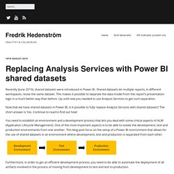 Replacing Analysis Services with Power BI shared datasets – Fredrik Hedenström