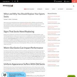 Replacing Custom Athletic Socks