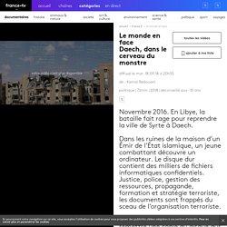 Replay Le monde en face - Daech, dans le cerveau du monstre - France 5
