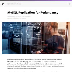MySQL Replication for Redundancy - The aTech Media Blog - Krystal Blog