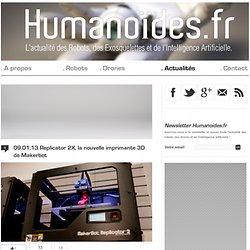 Replicator 2X, la nouvelle imprimante 3D de Makerbot