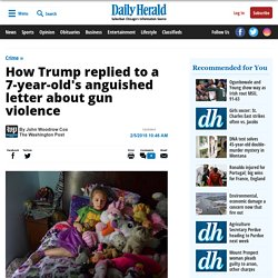 How Trump replied to a 7-year-old's anguished letter about gun violence