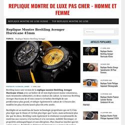 Replique Montre Breitling Avenger Hurricane 45mm