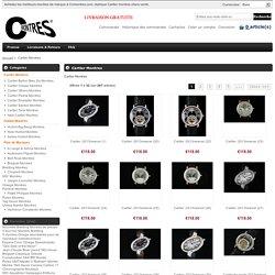 Replique Cartier Montres haute qualite vente en ligne pas cher.