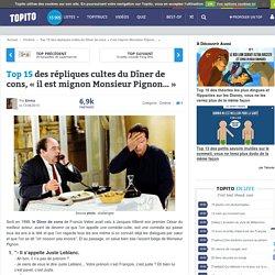 Top 15 des répliques cultes du Dîner de cons, «il est mignon Monsieur Pignon…»